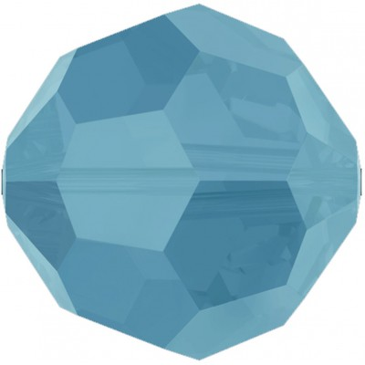 20 Swarovski Crystal Turquoise 6mm Round Beads Article 5000