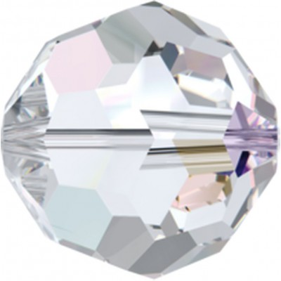 1 Swarovski Crystal 12mm Crystal AB Round Bead Article 5000