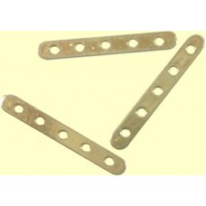 1 Vermeil 5-Hole Spacer Bar