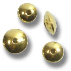 10 Vermeil 5mm Rondelle Beads