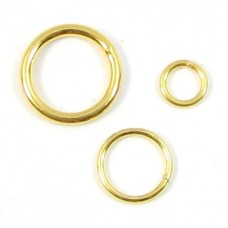 10 Vermeil 4mm Jump Rings