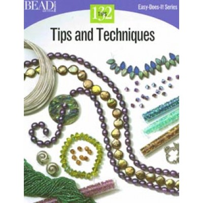 Tips and Techniques (Easy Does It) Softback book by Bead and Button Projects