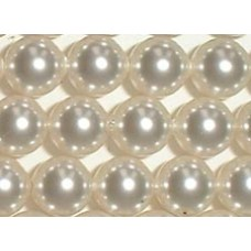10 Swarovski Crystal White 12mm Pearls