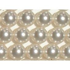 Strand 100 Swarovski Crystal White 4mm Pearls