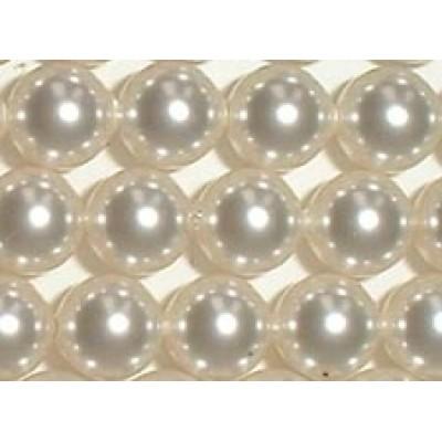 10 Swarovski Crystal White 12mm Pearls