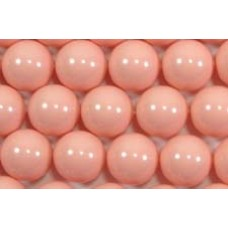 10 Swarovski Crystal Pink Coral 12mm Pearls