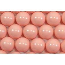 10 Swarovski Crystal Pink Coral 12mm Pearls