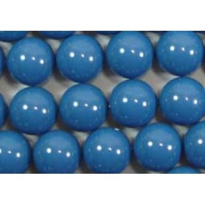 10 Swarovski Crystal Lapis 12mm Pearls
