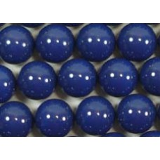 10 Swarovski Crystal Dark Lapis 12mm Pearls