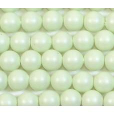 1 strand Swarovski 4mm Crystal Pastel Green Pearls
