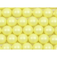1 strand Swarovski 4mm Crystal Pastel Yellow Pearls