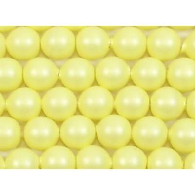 1 strand Swarovski 4mm Crystal Pastel Yellow Pearls