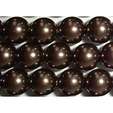 Strand 100 Swarovski Crystal Brown 6mm Pearls
