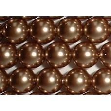 Strand 100 Swarovski Crystal Bronze 4mm Pearls