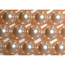 Strand 100 Swarovski Crystal Peach 4mm Pearls