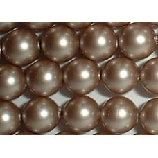 Strand 100 Swarovski Crystal Powder Almond 4mm Pearls