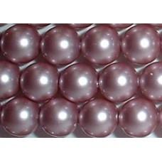 Strand 100 Swarovski Crystal Powder Rose 4mm Pearls