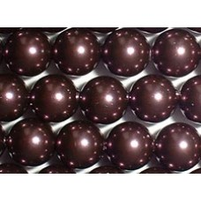 10 Swarovski Crystal Burgundy 12mm Pearls