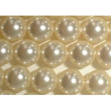 10 Swarovski Crystal Cream 12mm Pearls