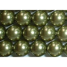 10 Swarovski Crystal Light Green 12mm Pearls