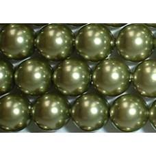 Strand 100 Swarovski Crystal Light Green 4mm Pearls
