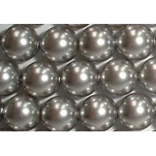 Strand 100 Swarovski Crystal Light Grey 4mm Pearls