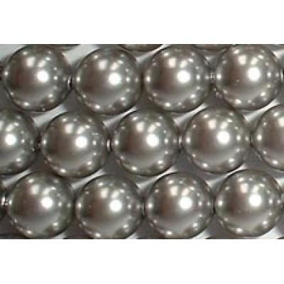 Strand 100 Swarovski Crystal Light Grey 6mm Pearls