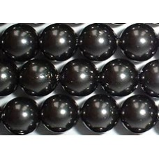 Strand 100 Swarovski Crystal Black 6mm Pearls