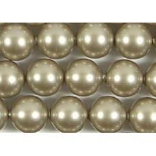 10 Swarovski 12mm Crystal Platinum Pearls