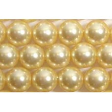 1 strand Swarovski 4mm Crystal Light Gold Pearls