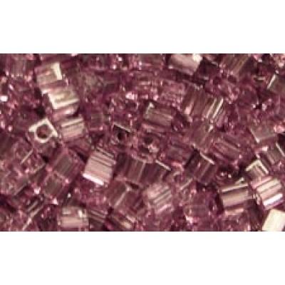 25gr Miyuki Cube Beads Amethyst Trans.