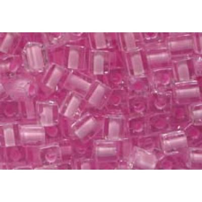 25gr Miyuki Cube Beads C/L Baby Pink