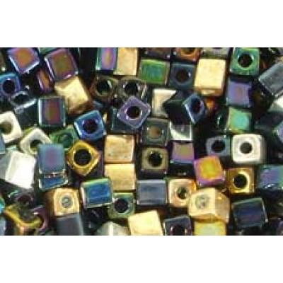 25gr Miyuki Cube Beads Precious Metals