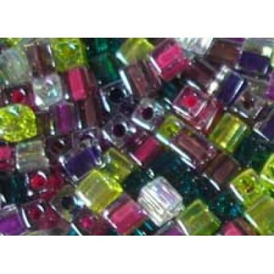 25gr Miyuki Cube Beads Woodland