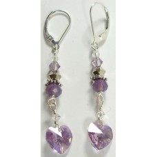 Lilac Love Earrings