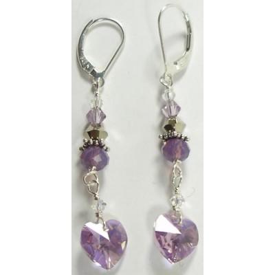 Lilac Love Earrings