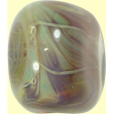 Handmade Borosilicate Oval Glass Focal Bead