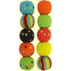 Fairtrade Liquorice Allsorts Mixed Pack 10mm Beaded Beads