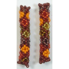 1 Jabulani African Bush Beaded Tube - Diamond Motif