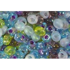 25gr Oceanic Mixture Magatama Beads