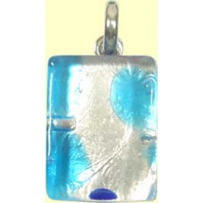 Murano Glass Pendant Small Oblong