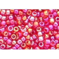 25gr Cranberry Rainbow 11/0 Matsuno Rocailles