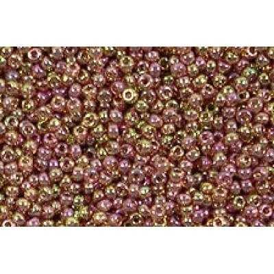 25gr Matsuno 11/0 Rose Gold Lustre Rocailles