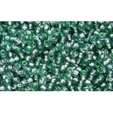 25gr Matsuno 11/0 Rocailles - Silver Mint