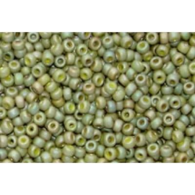 25gr Matsuno 11/0 Rocailles - Matte Dry Lime
