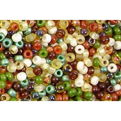 25gr Matsuno 11/0 Rocailles - Woodland Mix