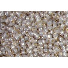 25gr Matsuno 11/0 Rocailles - Silver Lined Rose Mink
