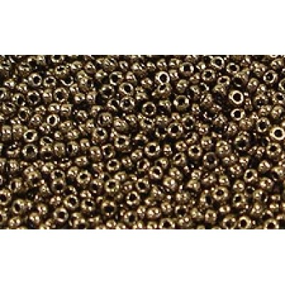 25gr Matsuno 11/0 Rocailles - Metallic Chocolate