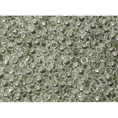 25gr Matsuno 11/0 Rocailles - Metallic Silver