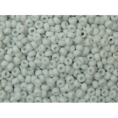 25gr Miyuki 11/0 Rocailles - Frosty Snowy Soft Grey